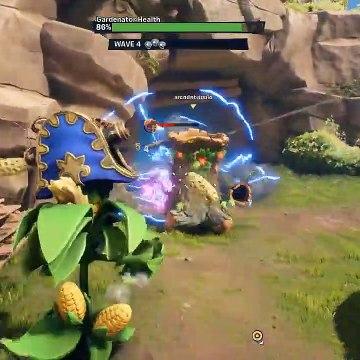 Captain Cannon Kernel vs Gargantuar - Plants vs. Zombies Battle for Neighborville - Gameplay Part 44