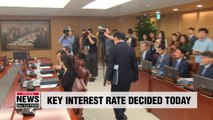 Bank of Korea to decide benchmark interest rate today