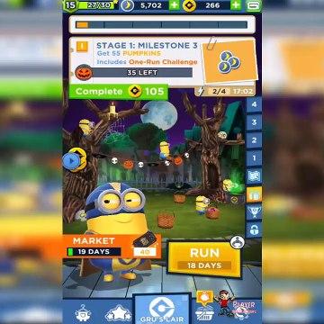 Minion Rush Residential At Night Map New Update - Superhero Minion Unlocked Gameplay