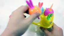 Cutting Big Egg Colors Kinetic Sand Toys Learn Colors Slime Ice Cream Clay Toys For Kids