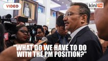 Hishammuddin: Who am I to block Anwar from becoming PM?