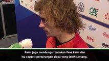 Pemain Prancis menikmati atmosfer 'panas' lawan Turki