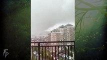 Tornado and Typhoon Hagibis in Japan
