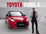 A bord de la Toyota Yaris (2019)