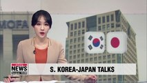 South Korea and Japan to hold working-level diplomatic talks today