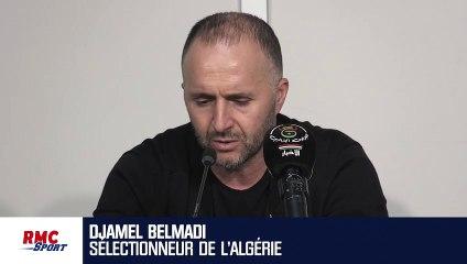 """""""Ce match (face aux Bleus) se passera en Algérie"""" assure Belmadi"""