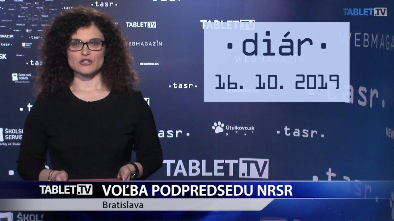 DIÁR: Poslanci budú voliť podpredsedu NR SR