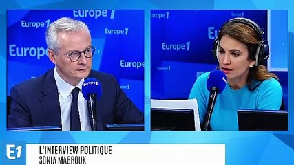 Bruno Le Maire - Europe 1 mercredi 16 octobre 2019