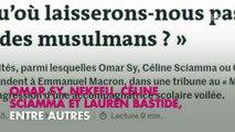 Omar Sy, Nekfeu… : Nadine Morano s'en prend à leur tribune contre l'islamophobie