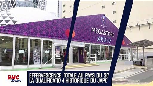 Mondial rugby : les maillots du Japon en rupture de stock après la qualification historique