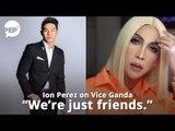 "Vice Ganda, sinagot ang ""We're just friends"" statement ni Ion Perez   PEP HOT STORY"
