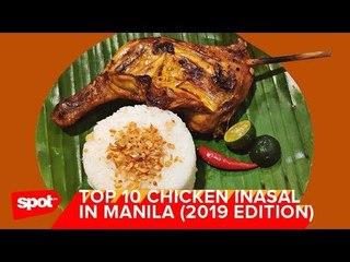 Top 10 Chicken Inasal in Manila (2019 Edition)