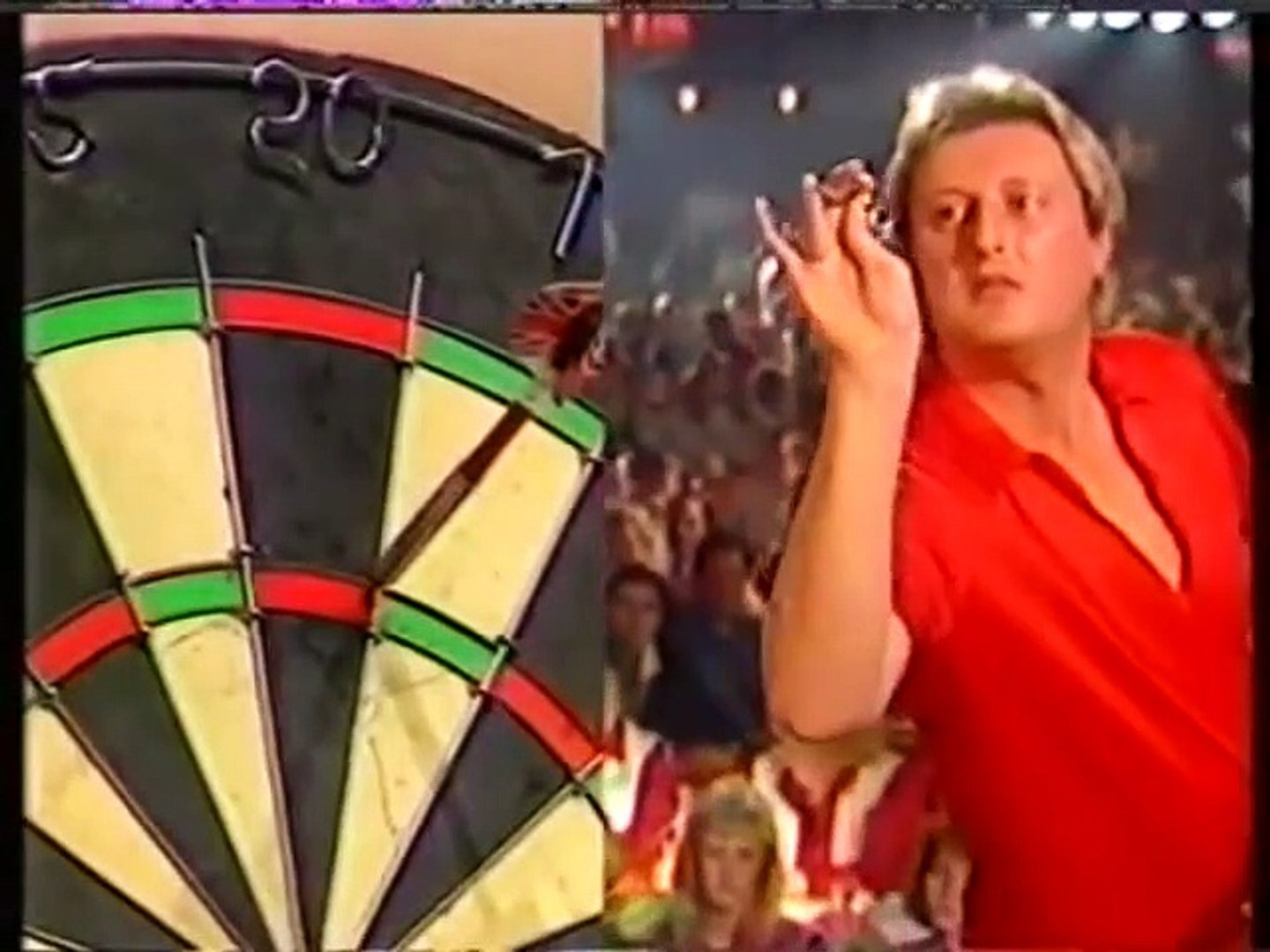 BDO World Darts Championship Final 1990 - Phil Taylor vs Eric Bristow  1of2