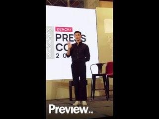 Park Seo Joon Bench Presscon in Manila   Press Preview   PREVIEW