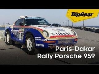Feature: Paris-Dakar Rally Porsche 959
