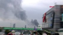 Üsküdar'da binanın çatısında korkutan yangın aktüel