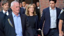 Felicity Huffman reports to prison to begin 14-day sentence