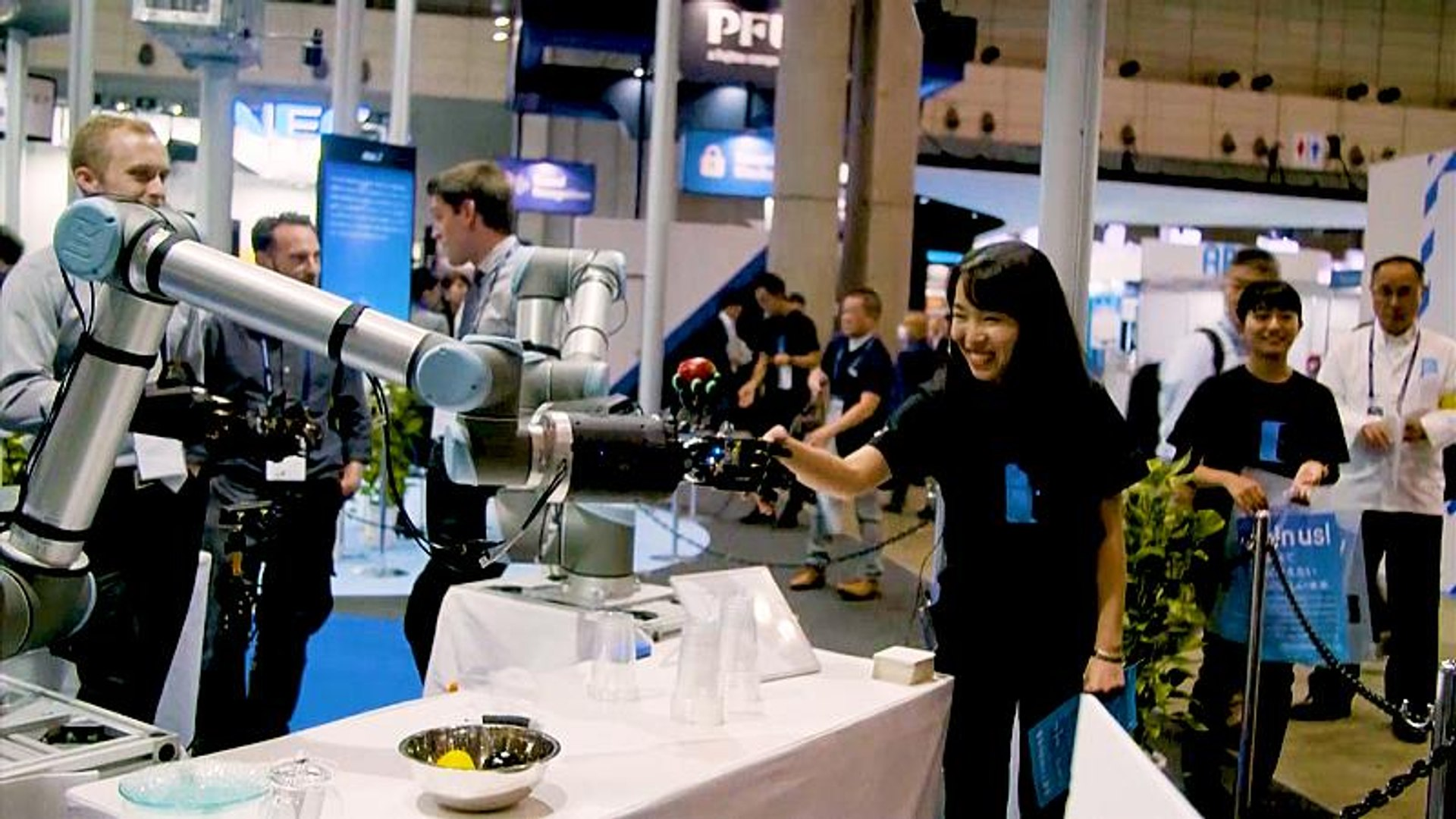 Latest cutting-edge technology showcased at Japan trade show