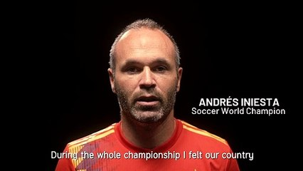 """""""Todos somos campeones"""" Nadal, Griezmann, Gasol, Márquez, Ysinbayeva, Rubio, Iniesta - Davis Cup by Rakuten Madrid Finals"""