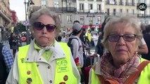 Concentración de pensionistas en Sol