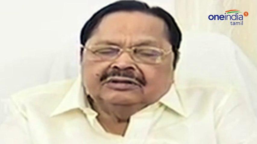 Durai murugan refused to speak about seeman