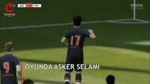 UEFA soruşturma başlatmıştı: 'Asker selamı' FIFA'nın lisansladığı video oyununda