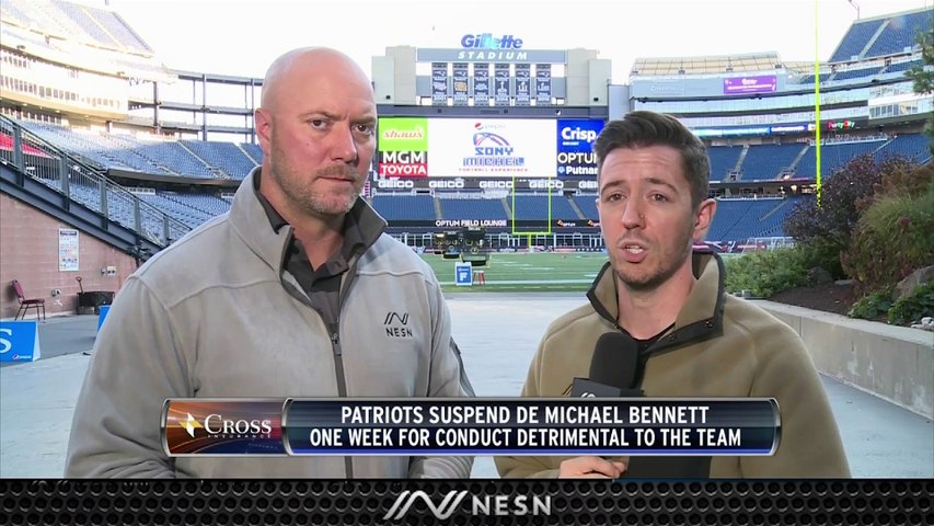 Michael Bennett Suspended For Conduct Detrimental To Team