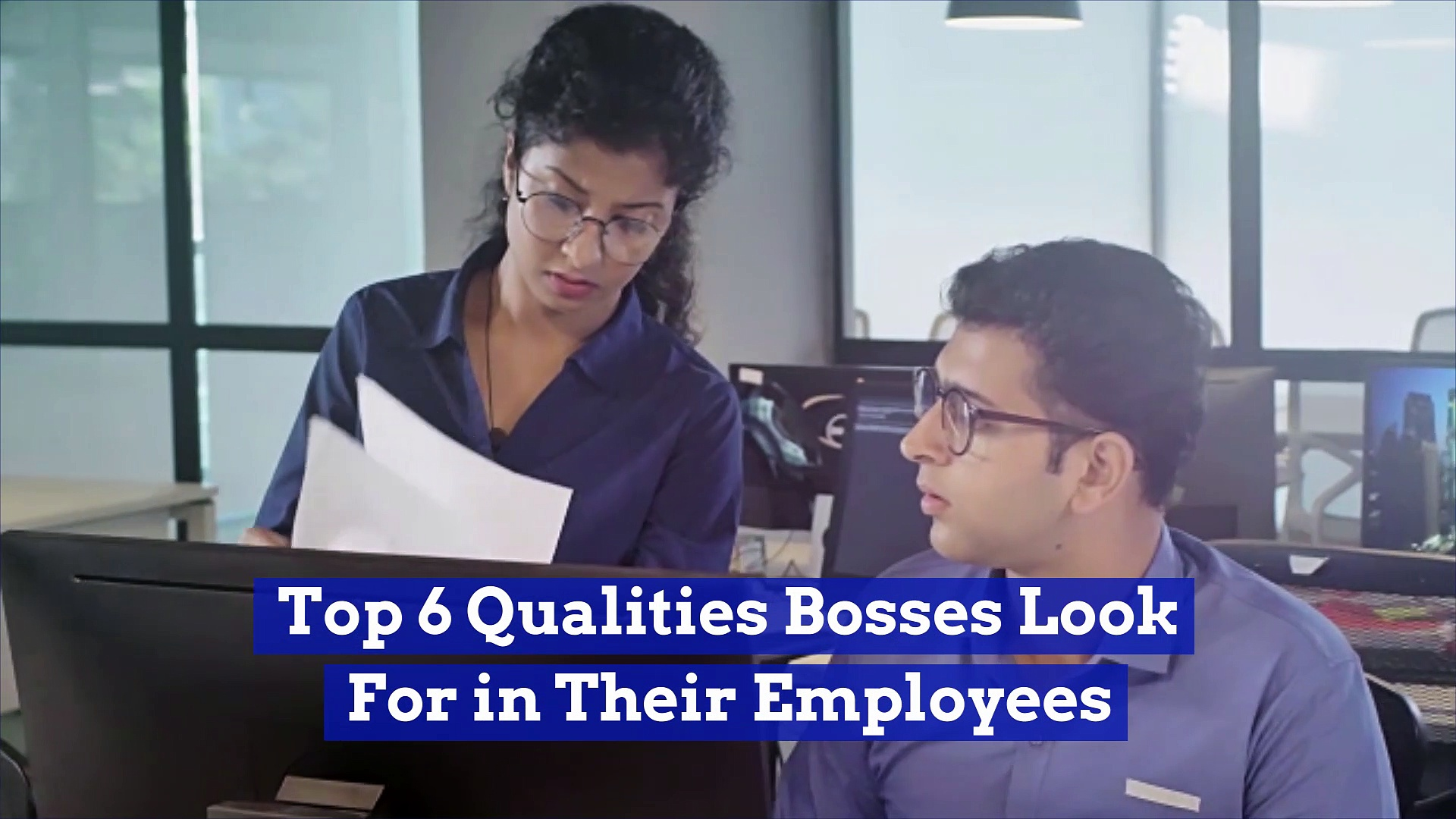 Top 6 Qualities Bosses Look For in Their Employees (National Boss's Day)
