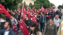 Barış Pınarı Harekatı'na üniversite öğrencilerinden destek