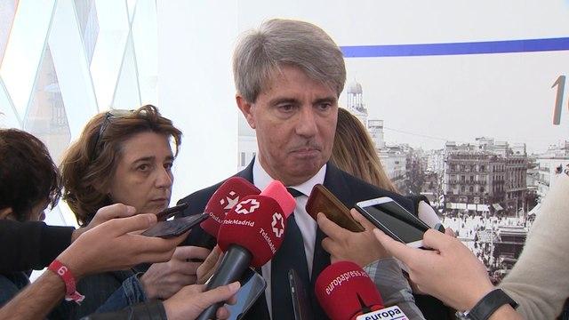 """Garrido señala que el Estado """"debe pagar las cosas que debe a Madrid"""""""