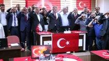 Aksaray Belediyesi Meclisi'nden Barış Pınarı Harekatı'na asker selamlı destek
