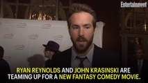 Ryan Reynolds, John Krasinski Uniting for New Comedy 'Imaginary Friends'