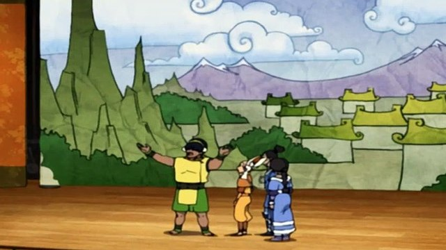 Avatar: The Last Airbender S03E17 The Ember Island Players - The Last Airbender S03E17