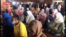 المئات من شباب شمال سيناء يشاركون فى ملتقى التوظيف