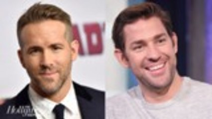 Ryan Reynolds & John Krasinski Unite for Comedy 'Imaginary Friends' | THR News