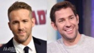 Ryan Reynolds & John Krasinski Unite for Comedy 'Imaginary Friends' | THR News