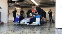Les essais de Formule E