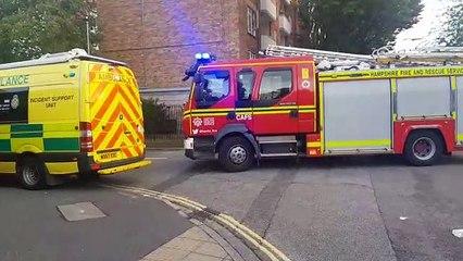 Emergency response at Tipton House