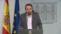 """Iglesias: """"Algunos se están viento atraídos por las implicaciones electorales de poner en primer plano las """"bajas pasiones"""""""