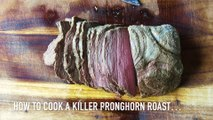 How to Make Roast-Beef Style Venison