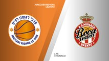 Maccabi Rishon Lezion - AS Monaco Highlights | 7DAYS EuroCup, RS Round 3