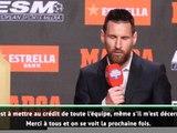 """Barça - Messi : """"Un trophée à mettre au crédit de toute l'équipe"""""""