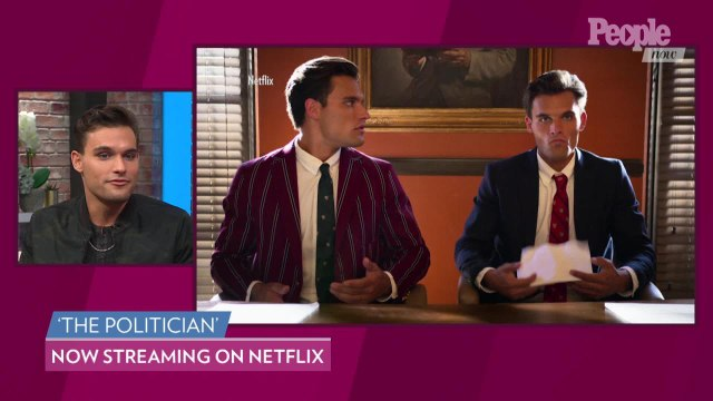 The Politician's Eason Twins Reveal What It's Like Being Mean to Ben Platt on Set