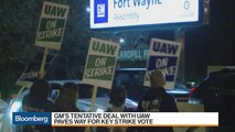 GM and UAW Reach Tentative Deal on New Contract