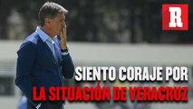 Míchel: 'Siento bastante coraje por la situación de Veracruz'
