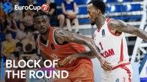 7DAYS EuroCup Block of the Round: Alex Hamilton, Maccabi Rishon Lezion
