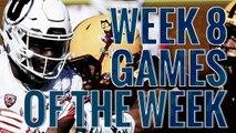 Week 8: College Football Games of the Week