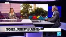 Extinction rebellion : les militants poursuivent leur mobilisation