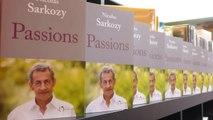 La séance de dédicace de Nicolas Sarkozy