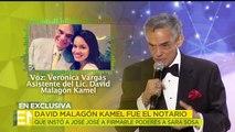 David Malagón fue el notario que incitó a José José a firmarle poderes a Sara. | Ventaneando